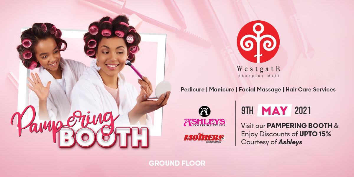 Mothers Day Pampering Booth