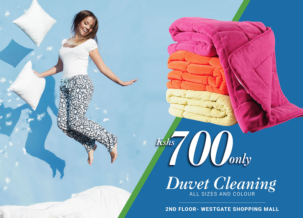 When it comes to washing your comforter or duvet, you can relax. It's not hard to do. Just schedule a pick up and Lorenzo Drycleaners will do the rest. Lorenzo Professional Dry-cleaning intends to extend the life of your duvets, blankets and bedding. Our cleaning process and special care will remove dirt stains and odours to keep your bedding feeling like a 5-star hotel experience right at home. Enjoy this Exclusive 30% offer at WESTGATE SHOPPING MALL LOCATED ON THE SECOND FLOOR