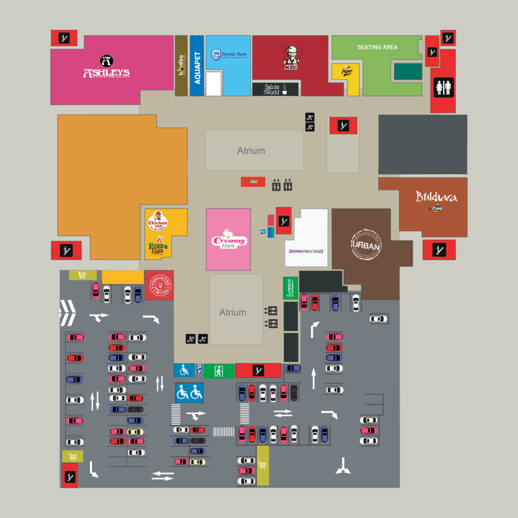 Westgate-map-Second-floor