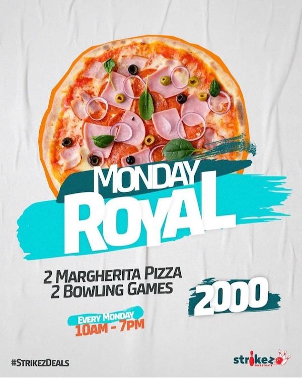 Westgate Strikez Monday Royal